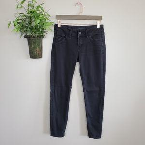 Silver Suki Skinny Ankle Stretch Black Jeans 27